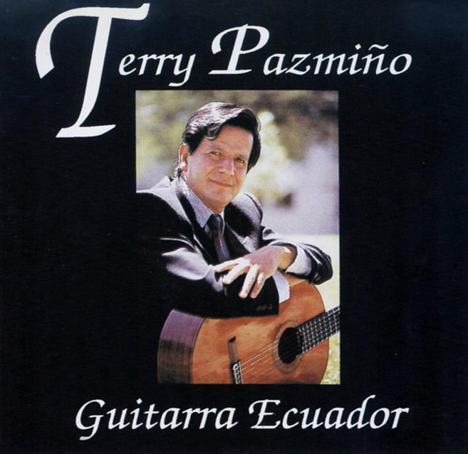 Album cover of Terry Pazmino: Guitarra Ecuador